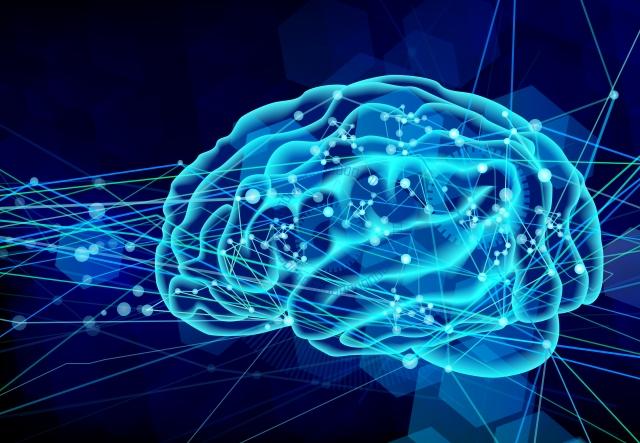 脳の情報伝達のイメージ